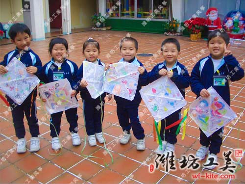潍坊风筝厂儿童DIY风筝展览