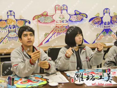 潍坊风筝厂沙燕DIY风筝制作