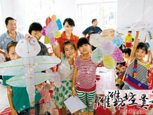 潍坊风筝厂DIY风筝展览活动