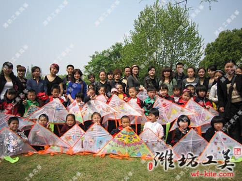 潍坊风筝厂DIY风筝活动展览