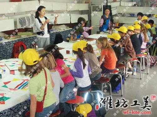 潍坊风筝厂空白创意DIY风筝设计