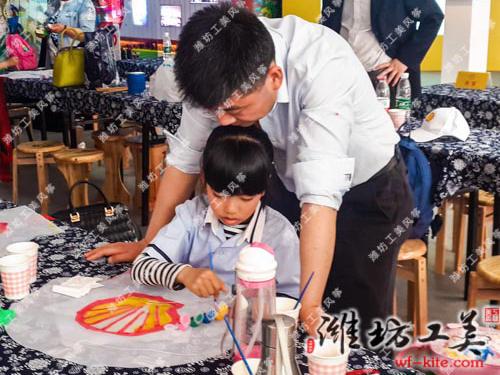 潍坊风筝厂壳牌DIY风筝活动