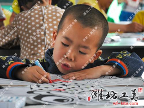潍坊风筝厂涂鸦DIY风筝设计