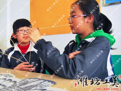潍坊风筝厂DIY风筝手工制作