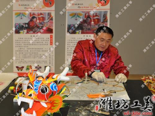潍坊风筝厂DIY风筝骨架制作