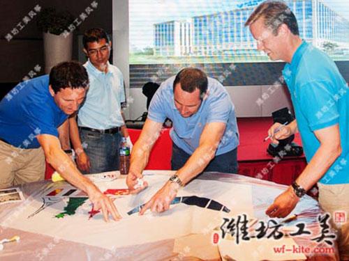潍坊风筝厂手工创意DIY风筝