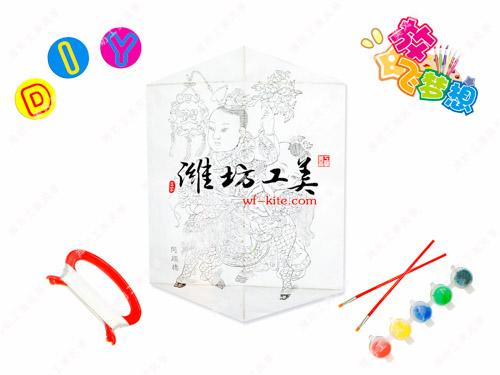 潍坊风筝厂年画DIY风筝模板