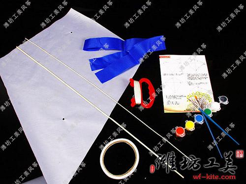 潍坊风筝厂DIY风筝手绘制作材料