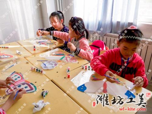 潍坊风筝厂DIY风筝创意彩绘