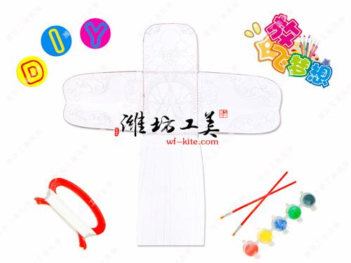 潍坊风筝厂脸谱DIY风筝模板