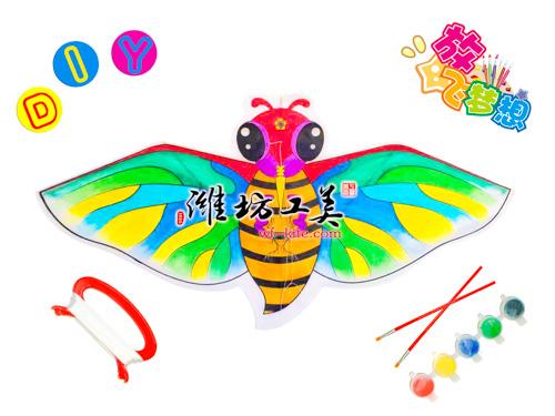 潍坊风筝厂蜜蜂DIY风筝图片